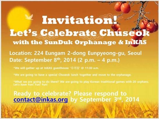 InKAS - Let's Celebrate Chuseok